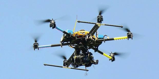 La police de Seraing se dote d'un drone - La DH