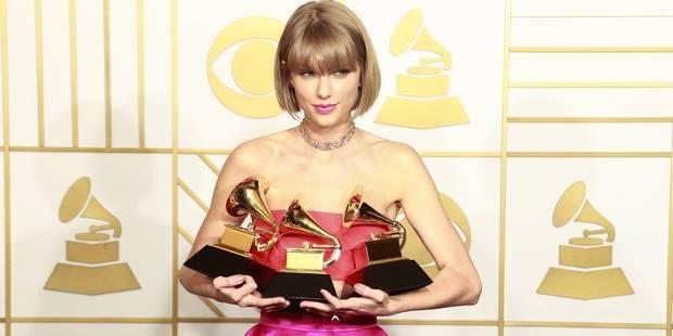 Taylor Swift triomphe, Kendrick Lamar enflamme le public aux Grammys - La DH