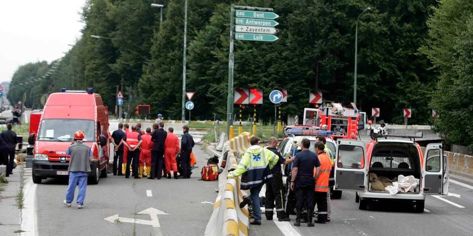 Cinq accidents en un jour au carrefour Léonard - La DH