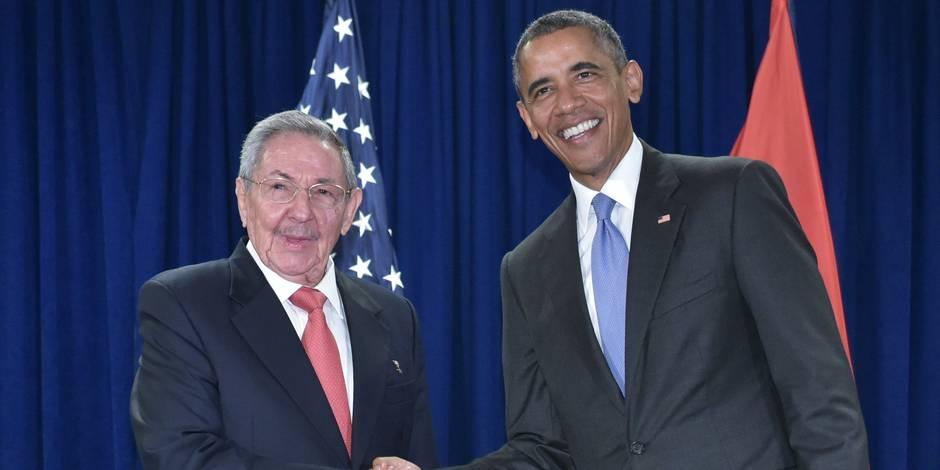 Une première depuis 1928, un président américain ira à Cuba en mars