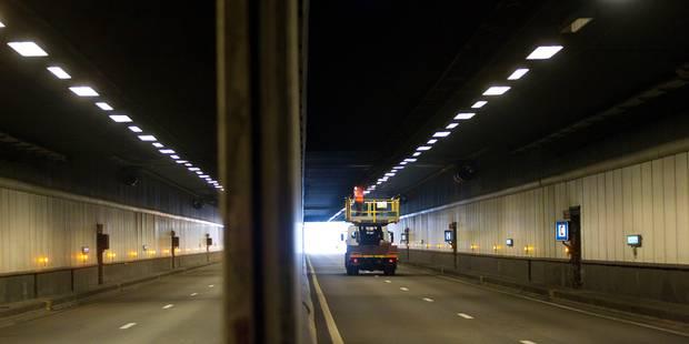 Le tunnel Montgomery sur une seule bande dès ce vendredi - La DH
