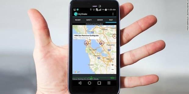 L'app'qui prévient et étudie des séismes - La DH