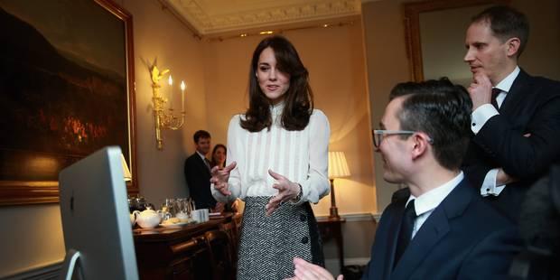 Kate Middleton écrit sa première tribune - La DH