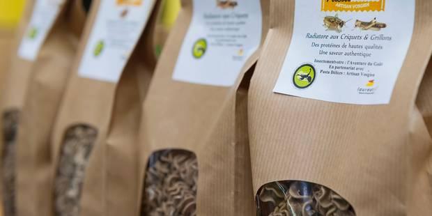 Grillon et cèpe... Des pâtes aux insectes et sans gluten - La DH
