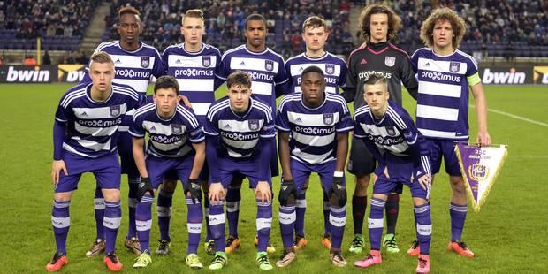 UEFA Youth League: Anderlecht éliminé en 1/8e de finale par le Dinamo Zagreb - La DH