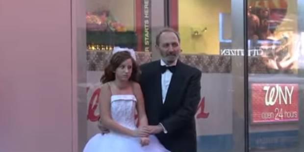 Un mariage entre une fillette de 12 ans et un homme de 65 ans organisé sur Times Square - La DH
