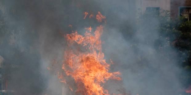 Maison ravagée par le feu à Messancy - La DH