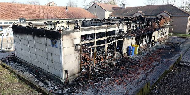Qui a pu incendier l'école du Scherdemael ? (VIDEOS) - La DH