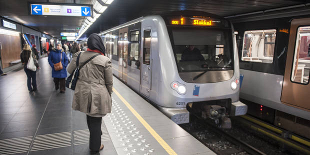 La circulation du métro a été rétablie entre les stations Stockel et Crainhem - La DH