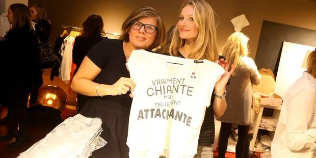 Sandrine Corman en vendeuse de mode (PHOTOS) - La DH