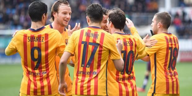 Liga: Messi déchaîné, le Barça enchaîne - La DH
