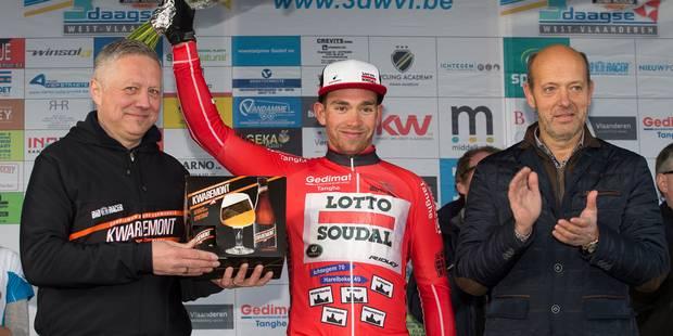 Trois Jours de Flandre occidentale: Sean De Bie remporte le classement final - La DH
