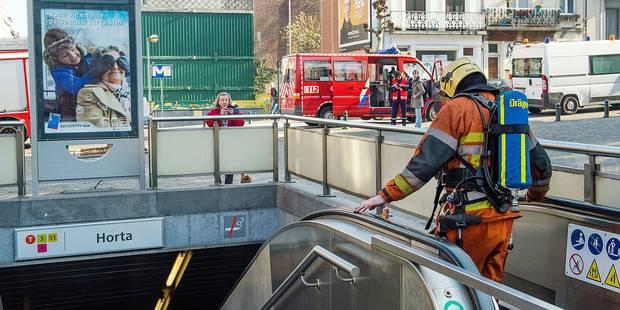 11 départs de feu dans le métro en 2015 - La DH