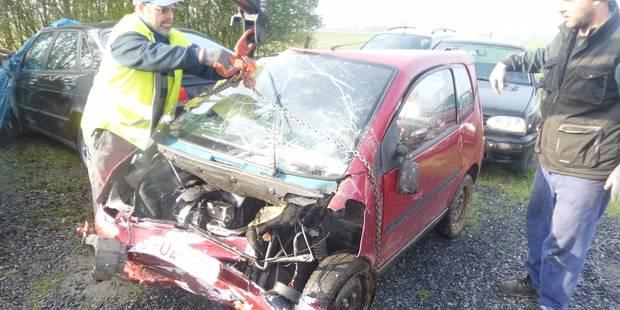 Fontaine-Valmont: Accident avec une voiture sans permis - La DH