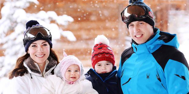 """La presse britannique s'en prend à William """"le paresseux"""", après des photos au ski - La DH"""
