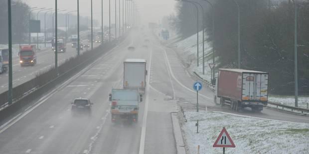 Fin de la phase de vigilance renforcée sur le réseau routier wallon - La DH