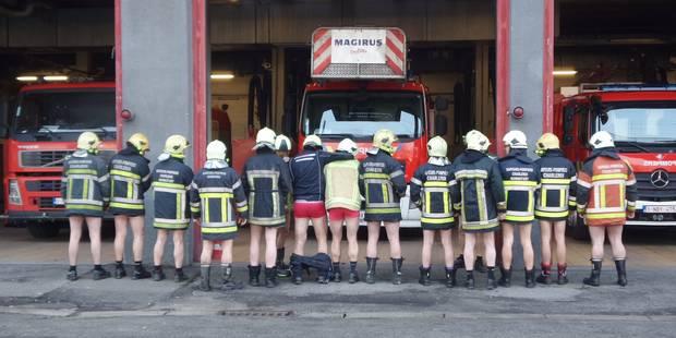 Les pompiers carolos sont mécontents: ils enlèvent leur pantalon ! - La DH