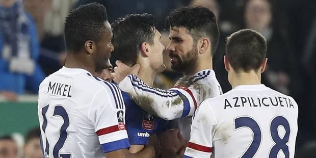 Diego Costa se la joue Luis Suarez et mord un adversaire (VIDEO) - La DH