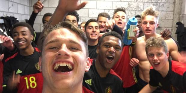 U17: les Belges qualifiés pour l'Euro au? sixième critère! (VIDEO) - La DH