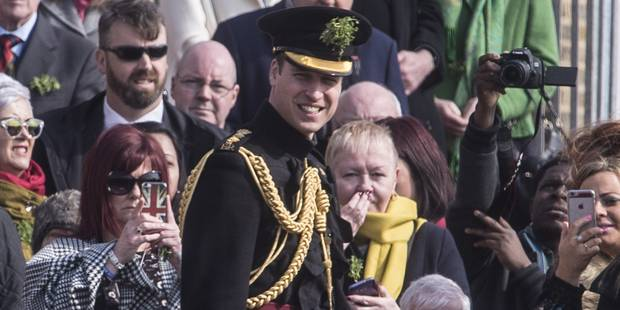 Trait� de paresseux, le prince William r�torque, entre flegme et sarcasme