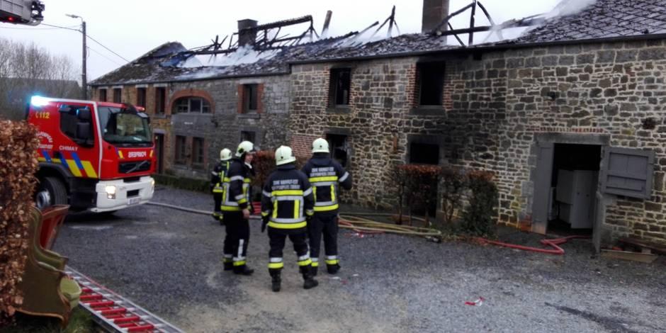 Monceau-Imbrechies: une personne retrouvée morte après l'incendie de 2 habitations