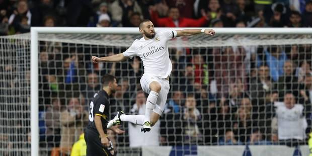 Liga: Benzema et le Real avec appétit, le Barça grignote - La DH
