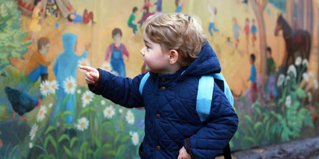 Découvrez le petit surnom que donne George à son arrière-grand-mère Elizabeth II - La DH