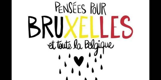 Explosions à Bruxelles : les twittos montrent leur soutien avec le hashtag #PrayForBelgium - La DH