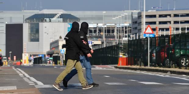De nouveaux explosifs retrouvés en soirée à Brussels Airport, un policier perd sa jambe - La DH