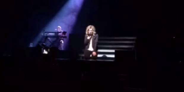 Le bel hommage de Lara Fabian à Bruxelles (VIDEO) - La DH