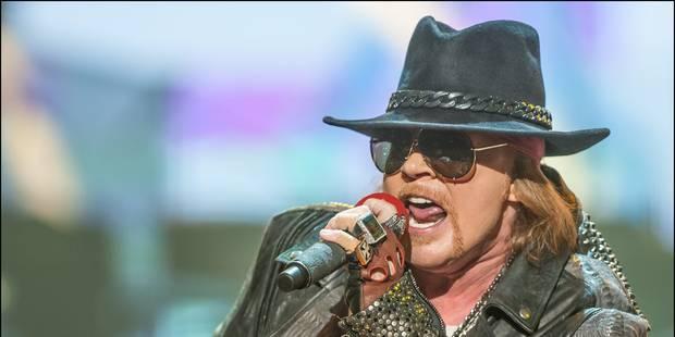 Axl Rose pour remplacer le chanteur de AC/DC ? - La DH