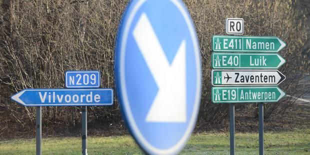 Accident sur le ring intérieur de Bruxelles au niveau de Ruisbroek - La DH