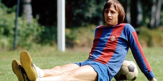 Johan Cruyff, un véritable Dieu au Barça - La DH