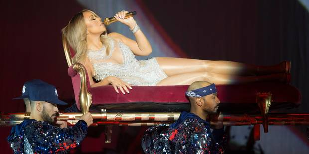 Mariah Carey annule son concert à Forest National - La DH
