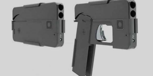 USA: bientôt un pistolet en forme de... smartphone - La DH