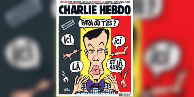 La Une polémique de Charlie Hebdo après les attentats de Bruxelles