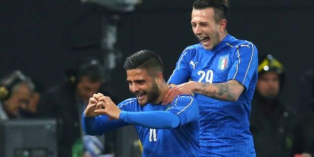 Insigne, l'espoir de l'Italie - La DH