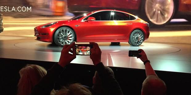 Tesla engrange 180.000 commandes en 24 heures pour son nouveau modèle - La DH