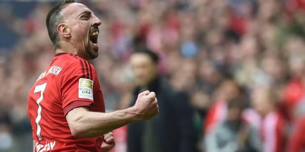 Bundesliga: Ribéry en mode buteur-turbo fait gagner le Bayern - La DH
