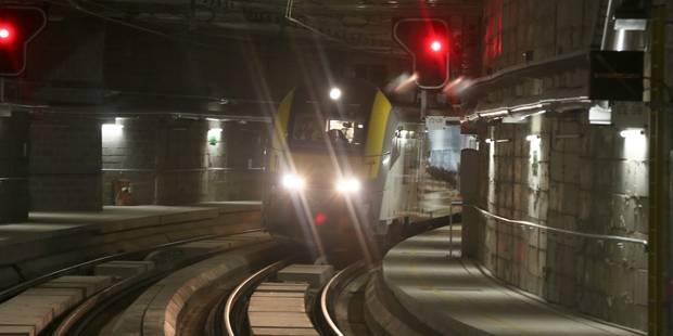 Le tunnel ferroviaire Schuman-Josaphat mis en service dès lundi (PHOTOS) - La DH
