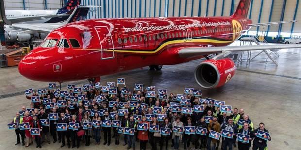 Voici l'avion personnalisé qui conduira les Diables à l'Euro (PHOTOS) - La DH