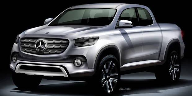 Un pick-up Mercedes pour bientôt? - La DH