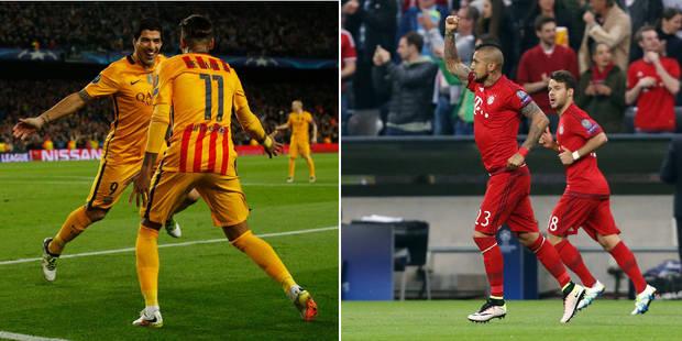 C1: le Barça se fait peur (2-1), service minimum pour le Bayern (1-0) - La DH
