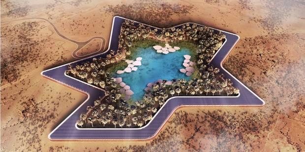 Un hôtel vert en plein milieu du désert, le projet fou des Emirats arabes unis (Photos) - La DH