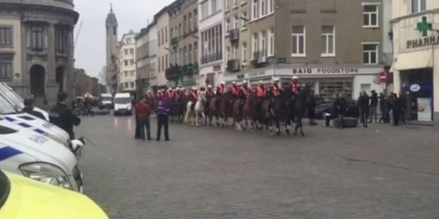 Manifestation non-autorisée à Molenbeek: 38 personnes verbalisées - La DH