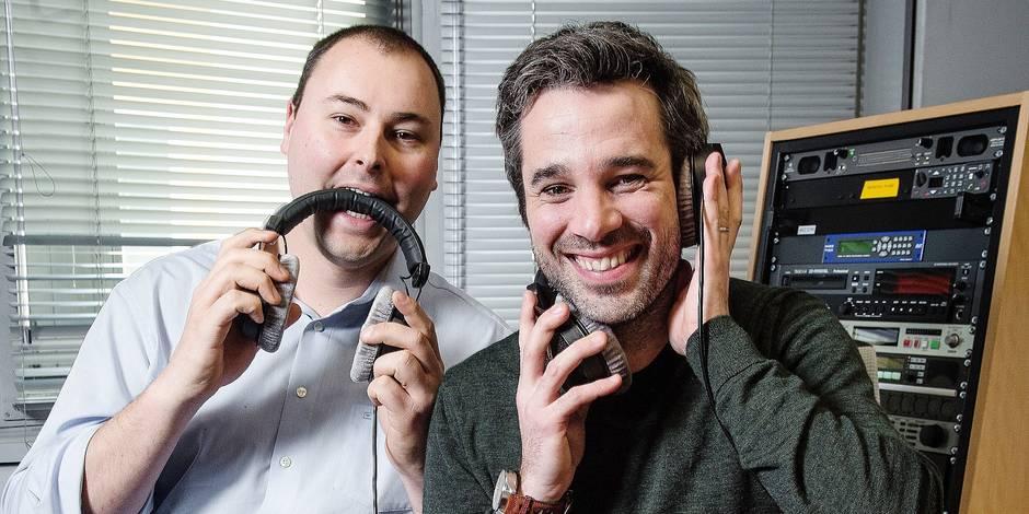 Adrien Devyver et Benjamin Maréchal cassent les codes de la télé... et de la radio! - La DH