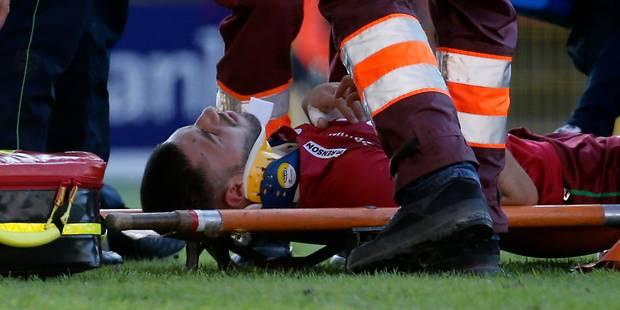 Fracture du crâne, de la mâchoire et forte commotion pour Karim Essikal, Anderlecht lui souhaite du courage (VIDEOS) - L...