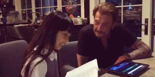 Johnny Hallyday interviewé par sa fille Jade (VIDEO) - La DH