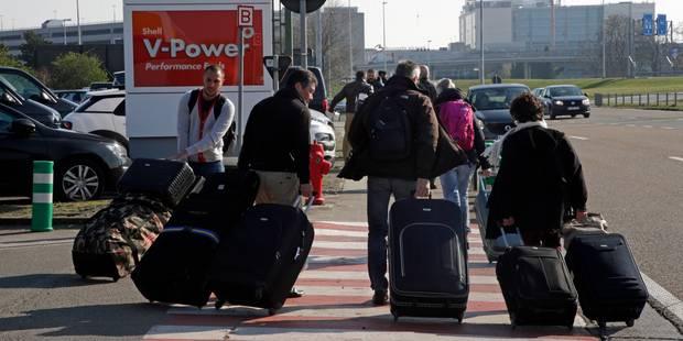Véhicule suspect sur l'A201: le périmètre est levé, l'aéroport de nouveau accessible - La DH