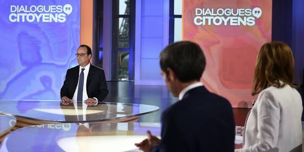 Dans son grand oral, Hollande évoque 2017, Macron et des mauvais chiffres du chômage - La DH